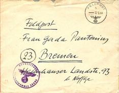 DE Feldpost 1944 ... AX298 - Deutschland
