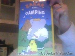 Cassette VHS De Babar Fait Du Camping - Enfants & Famille