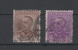 1928 Parmeggiani 7 1/2 50 C. Serie Cpl - 1900-44 Vittorio Emanuele III