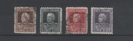 1927 Vittorio Emanuele III Effigie Serie Cpl - 1900-44 Vittorio Emanuele III