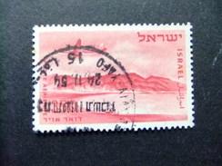 ISRAEL 1953 - 56 Baie D´EILAT Yvert & Tellier N PA 13 º FU - Israel