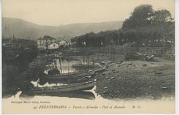 ESPAGNE - FUENTERRABIA - Puerto Y Alameda - Guipúzcoa (San Sebastián)