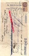36 - ARGENTON SUR CREUSE - TRAITE A. RENAUD - JUILLET- FABRIQUE DE DRAPS- 1928 - France