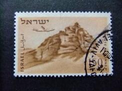 ISRAEL 1953 - 56 ROCHER Du LION Yvert & Tellier N PA 12 º FU - Israel