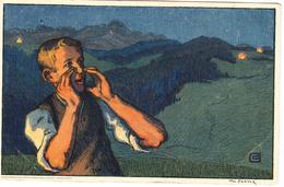1926   CARTE FETE NATIONALE N° 44    CATALOGUE ZUMSTEIN - Suisse
