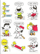 Snoopy Par Schulz - Auto-collants - Planche De Collages à Découper - Books, Magazines, Comics