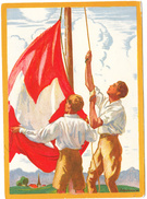 1929   CARTE FETE NATIONALE N° 56    CATALOGUE ZUMSTEIN - Suisse
