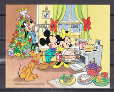 Sierra Leone,1993,1 Block,christmas,Walt Disney ,Mickey,pluto,MNH/Postfris(L2897) - Disney