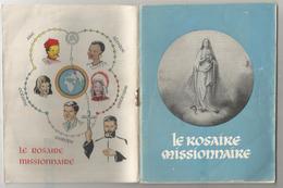 Le Rosaire Missionnaire. Père Walter Gardini. 1954 - Livres, BD, Revues