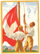 1929   CARTE FETE NATIONALE N° 58    CATALOGUE ZUMSTEIN - Suisse