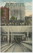 U.S.A. - NEW YORK CITY - BROOKLYN Bridge Subway Station - Brooklyn
