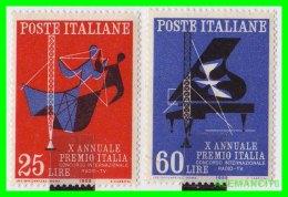 VATICANO  ( CIUDAD DEL ) 2 SELLOS SERIE  AÑO 1958 - Vaticano (Ciudad Del)