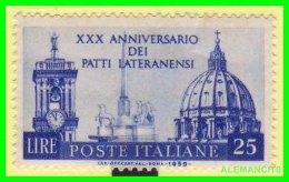 VATICANO  ( CIUDAD DEL )  SELLO AÑO 1959 - Vaticano (Ciudad Del)