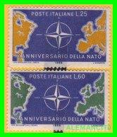 VATICANO  ( CIUDAD DEL ) 2 SELLOS SERIE  AÑO 1959 - Vaticano (Ciudad Del)