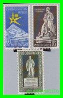 VATICANO  ( CIUDAD DEL )  3  SELLOS  AÑO 1953-61 - Vaticano (Ciudad Del)