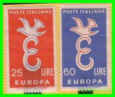 VATICANO  ( CIUDAD DEL )  2  SELLOS  AÑO 1958 - Vaticano (Ciudad Del)
