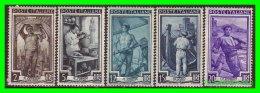 VATICANO  ( CIUDAD DEL )  5  SELLOS  DE SERIE - Vaticano (Ciudad Del)