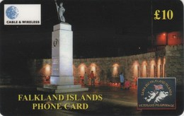 *FALKLAND ISLANDS* -  Scheda Usata - Falkland Islands