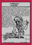 CPM LARDIE Jihel Billet De Banque Banknote Satirique Tirage Signé Numéroté En 100 Exemplaires - Monnaies (représentations)