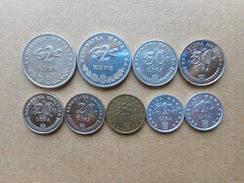 Croatia 1,5,20,50 Lipa, 2 Kune 1993-2015 (Lot Of 9 Coins) - Croatie