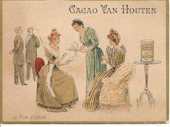 COLLECTION PUBLICITE - CACAO VAN HOUTEN - Le Five O' Clock. - Advertising