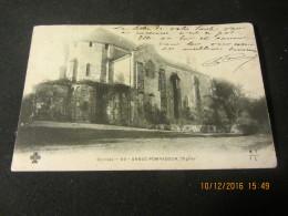 """Cpa ARNAC POMPADOUR (19) L'église """"avant 1903"""" - Arnac Pompadour"""