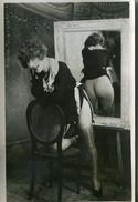 FEMME NUE Devant UN MIROIR REVELATEUR - - Nus Adultes (< 1960)