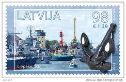 LATVIA - SEA PORT SHIPS ,sea lighthouse - Liepaja  2013 Y  MNH - Lettland