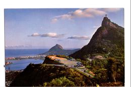 S1316 Postcard: Brasil, Rio De Janero - Lagos Rodrigo De Freitas E Concovado _ NOT WRITED - Rio De Janeiro