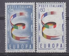 Europa Cept 1957 Italy 2v ** Mnh (34033A) - Europa-CEPT