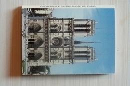 75, PARIS, DEPLIANT DE 20 VUES, CATHEDRALE NOTRE DAME DE PARIS - Notre Dame De Paris