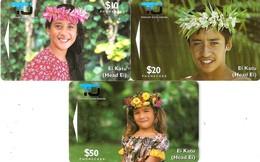 *ISOLE COOK* - Scheda Completa Usata - Cook Islands