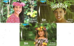 *ISOLE COOK* - Scheda Completa Usata - Islas Cook