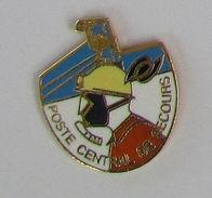 Pin's MINE/MINEUR - POSTE CENTRAL DE SECOURS - Pin's