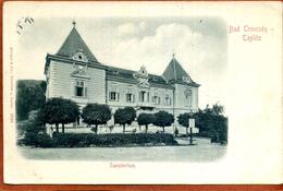 Slovaquie     CPA De BAD TRENCSEN   TEPLITZ       Sanatorium  .     Très Bon état - Slovakia