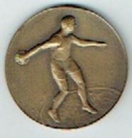 Médaille Bronze. Sport. Athlétisme. Royal Racing Club De Bruxelles. Match Racing - Union  192. 30 Mm. 12 Gr - Belgium