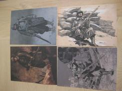 14-18 Corbeyran Et Le Roux La Photo 6 Dessins Delcourt Ex Libris Tiré à Part éo - Illustrators J - L