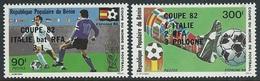 Benin  1982  Sc#522-3  Soccer Set  MNH**  2016 Scott Value $5.25 - Benin - Dahomey (1960-...)