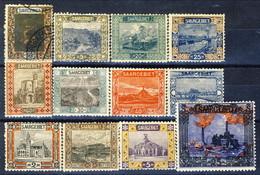 Sarre 1921 Serie N. 53-68 MLH (n. 54 Usato) Catalogo € 107 - 1920-35 Società Delle Nazioni