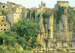 07. CPM. Ardèche. Balazuc. Vieux Village Pittoresque Surplombant L'Ardèche - France