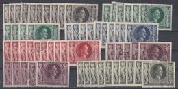 DR Lot 10x Minr.844-849 Gestempelt - Briefmarken
