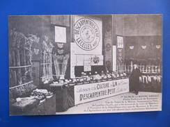 CPA -  LECELLES - DESCARPENTRIES - PETIT - SALON DE LA MACHINE AGRICOLE - France