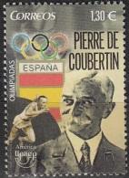 España 2016 UPAEP Pierre De Coubertin Neuf ** - 1931-Aujourd'hui: II. République - ....Juan Carlos I