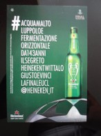 Heineken Beer Final Champions League Football Carte Postale - Advertising