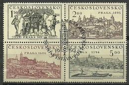 Tschechoslowakei, Nr. 630-33, Gestempelt - Gebraucht