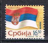 Symboles Nationaux Drapeau National N°146 - Serbie