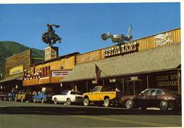 CPM JACKSON WYOMING Restaurant Voitures Non Ecrite - Etats-Unis