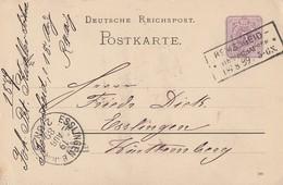 DR Ganzsache R3 Remscheid-Vierringhausen 18.8.89 - Deutschland