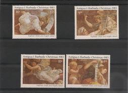 ANTIGUA Et BARBUDA   Année 1983 Noël N° Y/T : 723/726** - Antigua Et Barbuda (1981-...)