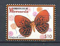 183 MICRONESIE 2006 - Yvert 1495 C - Papillon - Neuf ** (MNH) Sans Trace De Charniere - Micronésie